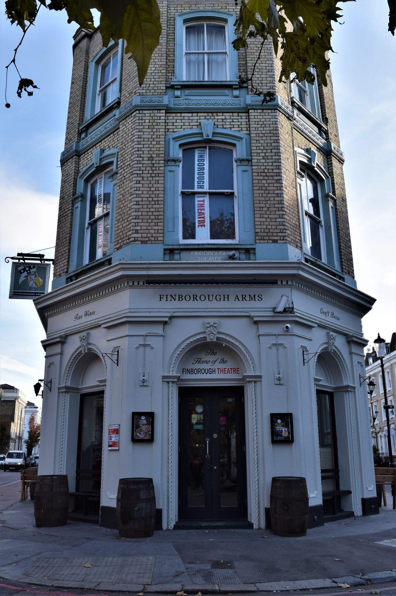 Image of Finborugh Theatre Front Exterior